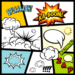 ftestickers comic comicbook comicbookart expression