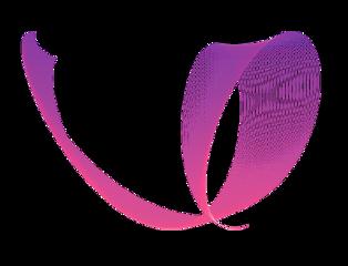 freetoedit curve loop pink rosy