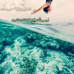 levitate water challenge freetoedit eclevitation