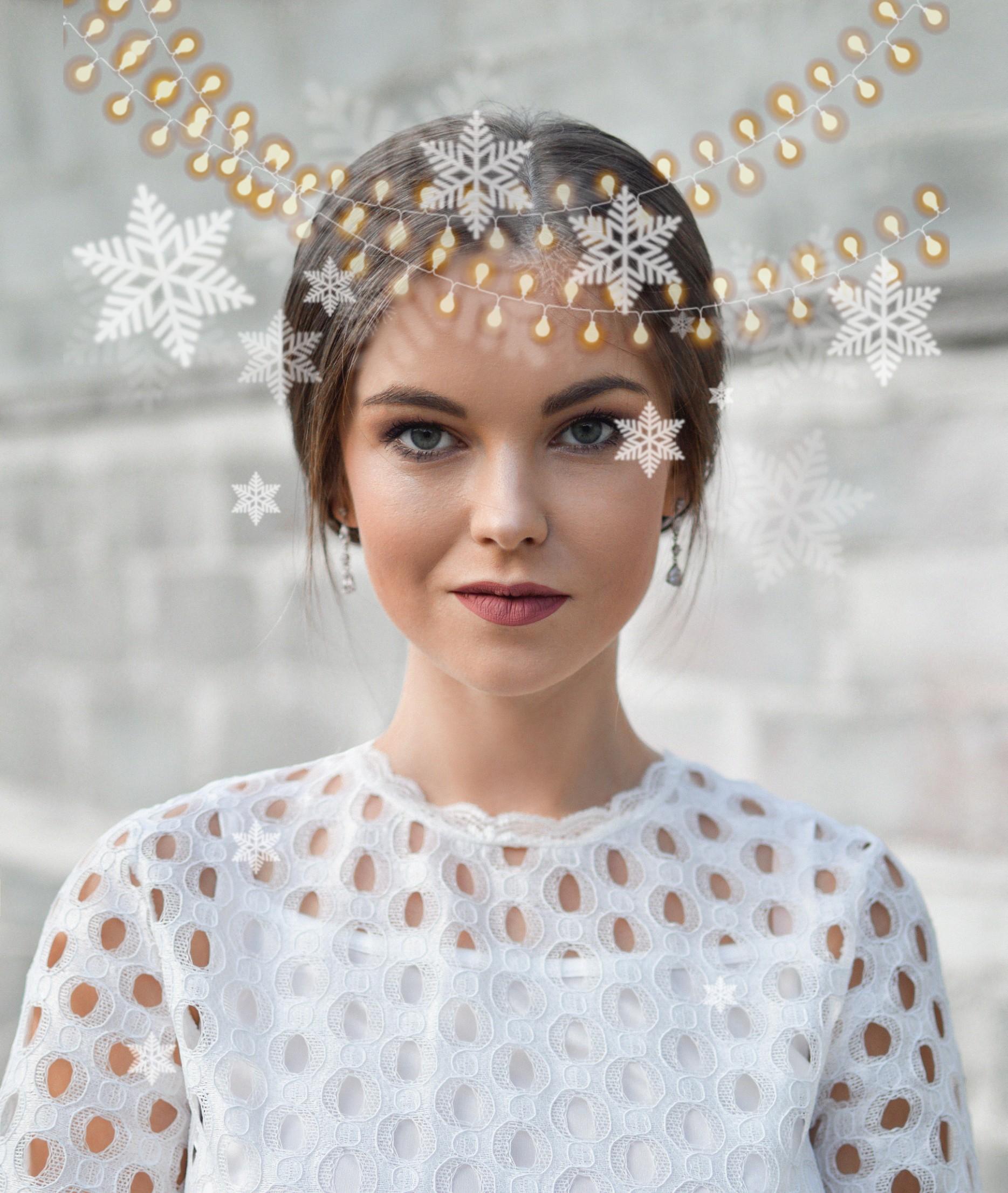 #freetoedit #winter #holidays #christmas #lights #snowflakes