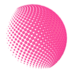 sphere dots spherical pattern spotted