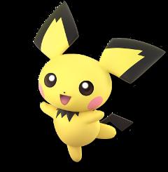 pichu nintendo pokemon supersmashbrosultimate ssbu freetoedit