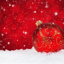freetoedit wallpaper background christmas2018 christmasbackgrounds snow red