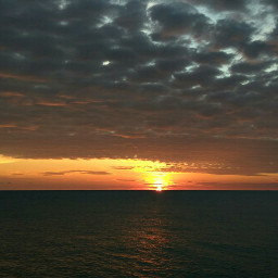 sunset love peace life panorama