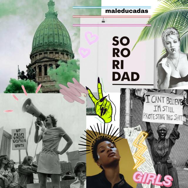 #freetoedit #power #girls #feminism #feministpower #abortolegalya #vote #woman #lucha #revolucion #libertad