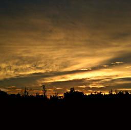 sunset shadow sky love life