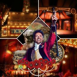 thegreatestshowman hughjackman edit circus carnival