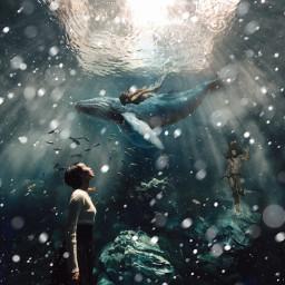 freetoedit imagination imagine dream water