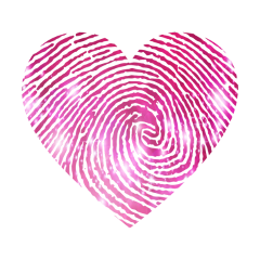freetoedit heart corazon fingerprint huella