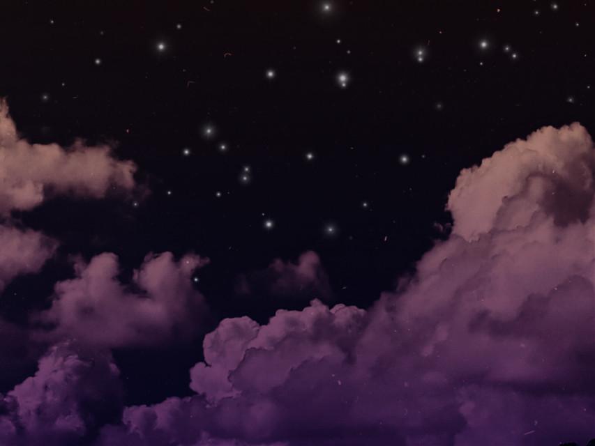 Thankful @pa #freetoedit #colourgradient #stars #night