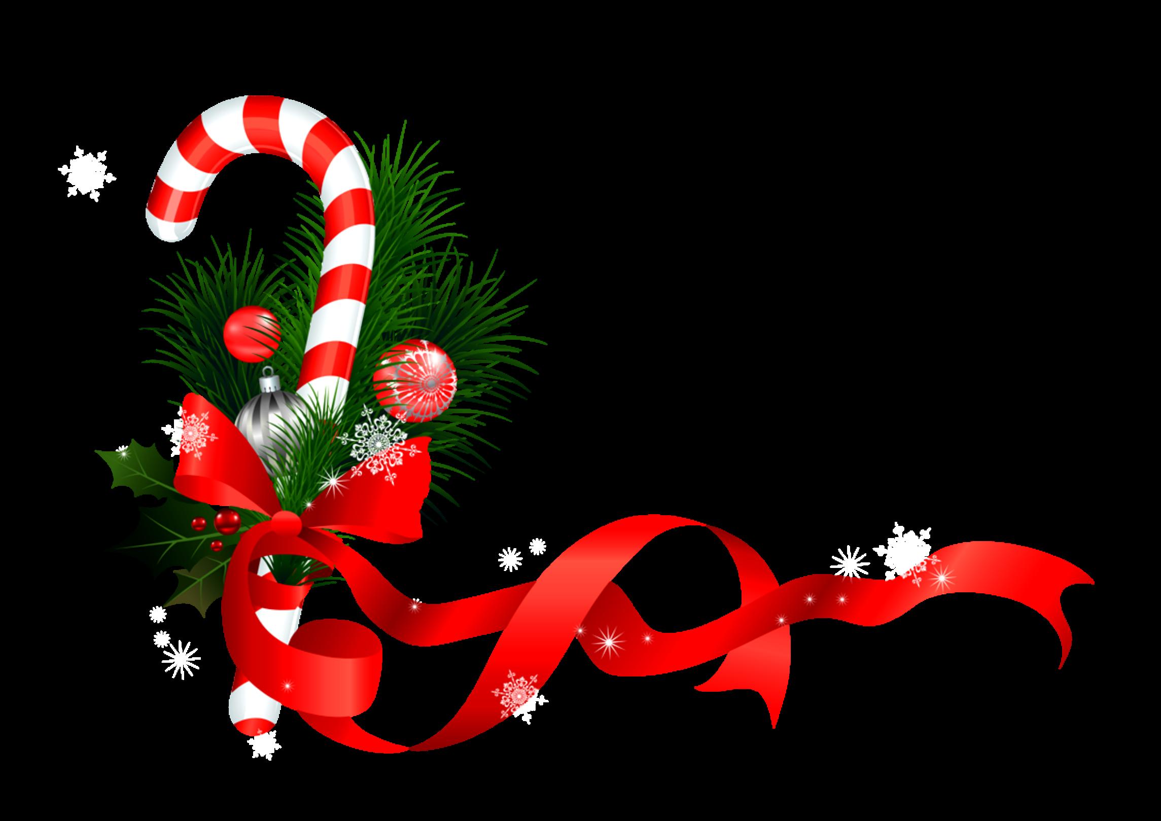 ftestickers christmas decoration ribbon candycane corne...