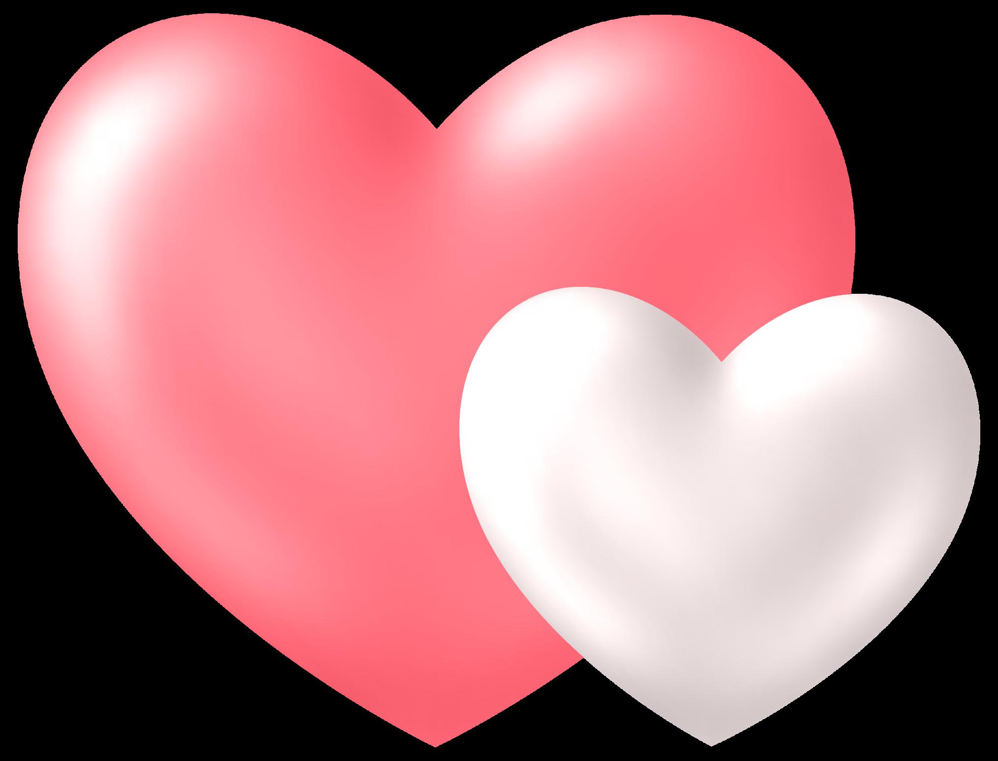 Два сердца картинки красивые, своими руками