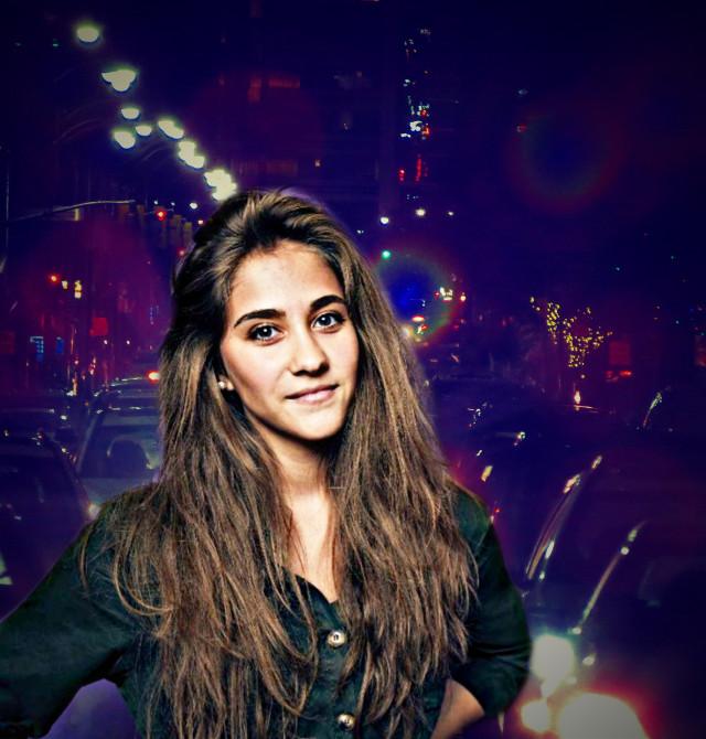 #freetoedit #picsart #edit by Smartphones #girl #beautifulgi #woman #lights #city #night #colorful #myedit #madewithpicsart #remixed #remix