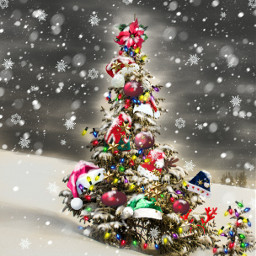 freetoedit snow christmastrees decorations ircwhitechristmas
