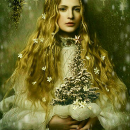 freetoedit christmastrees snow wildflowers lovelygirl ircwhitechristmas