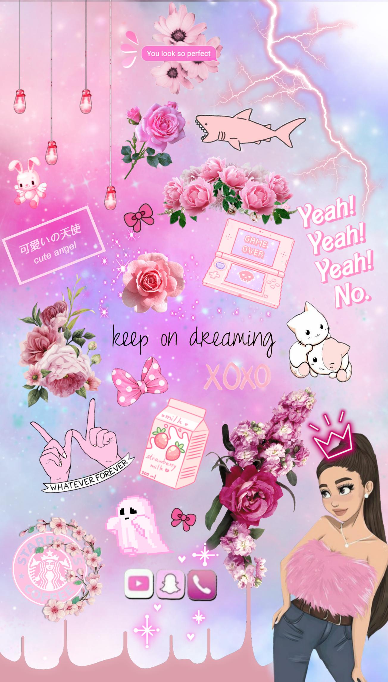 freetoedit 💞 ~ pink mood ~ wallpaper background tumblr...