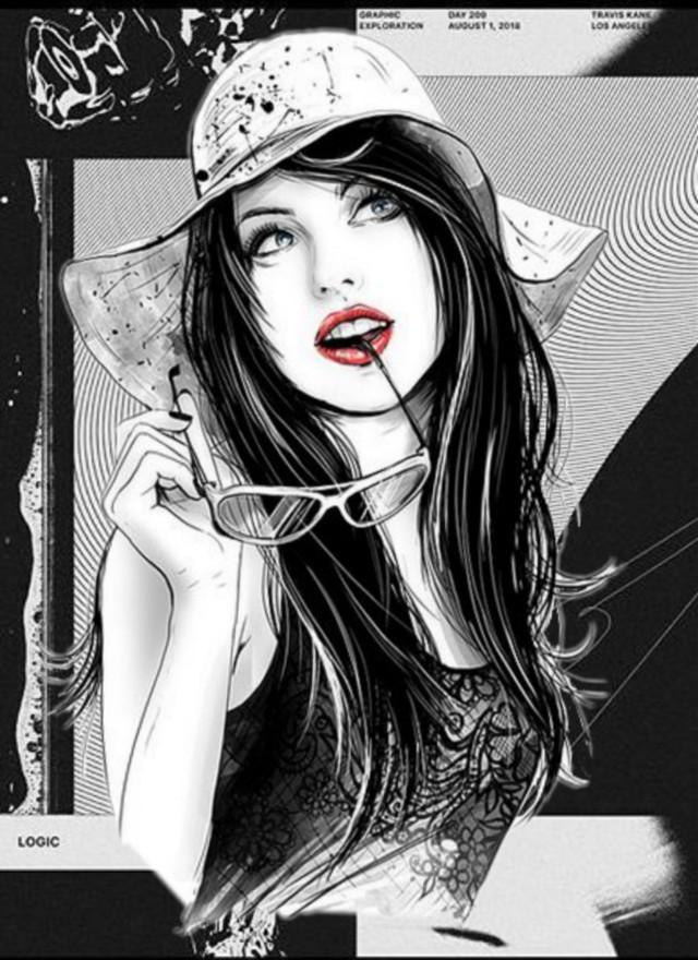@gina_art #frau #woman #girl #schwarzweiß #schwarzweiss #blackandwhite #black&white #fashion #fashionart