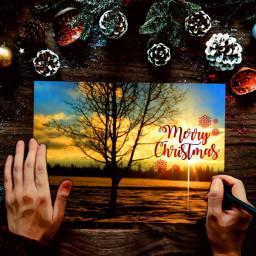 freetoedit merrychristmas ircchristmascard christmascard