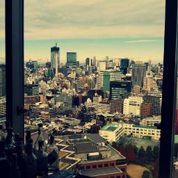 window building sky japan