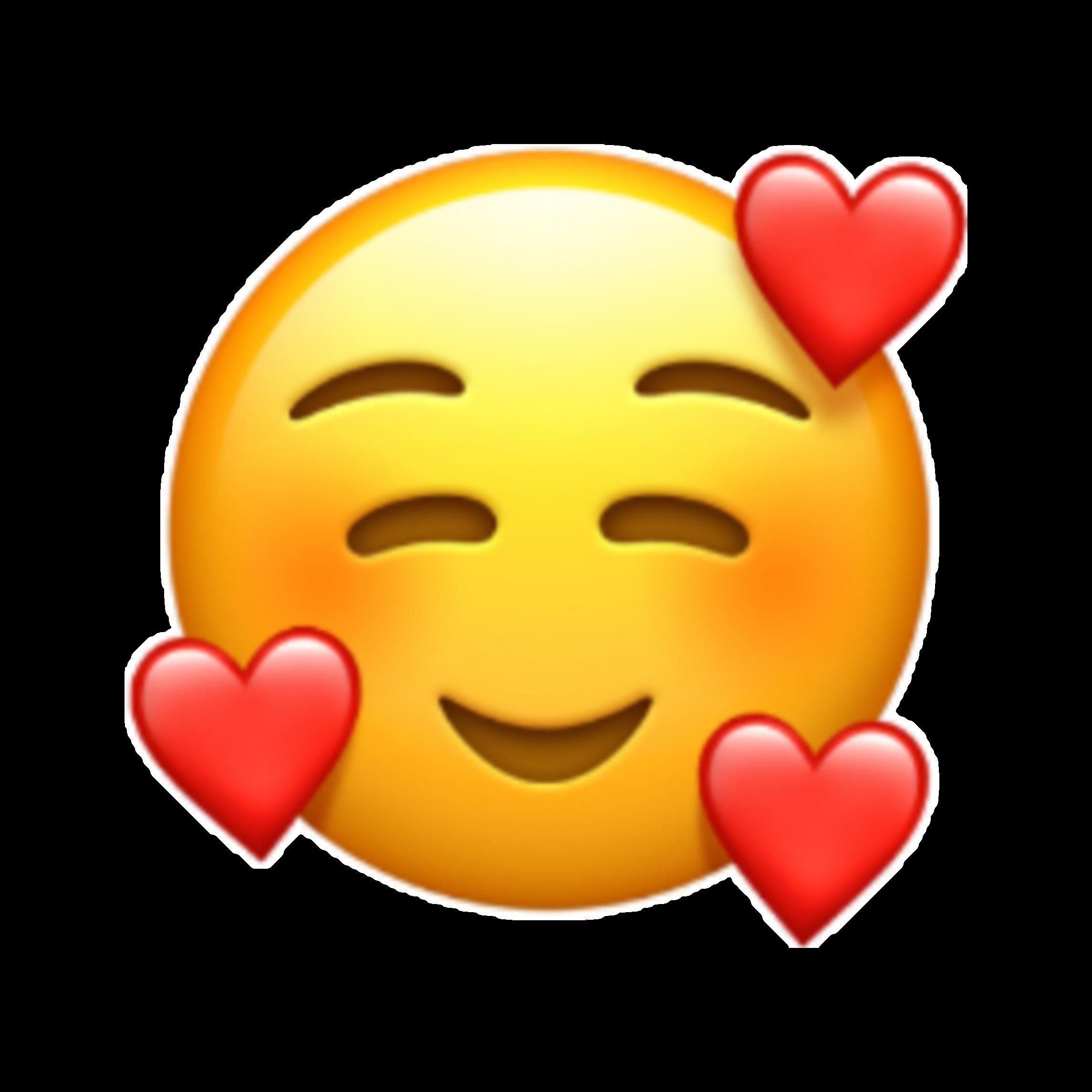 iphone iphoneemoji emoji emojis emojisticker heart happ...