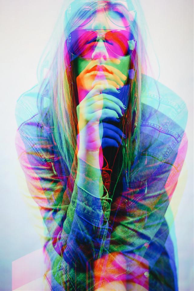 #freetoedit #glitch #multicolor