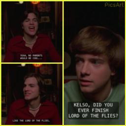 that70sshow lordoftheflies kelso ericforeman meme