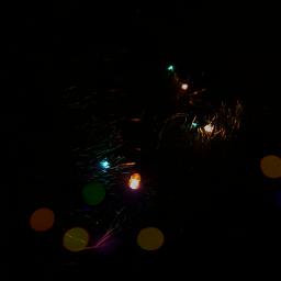 freetoedit newyear garland lights background