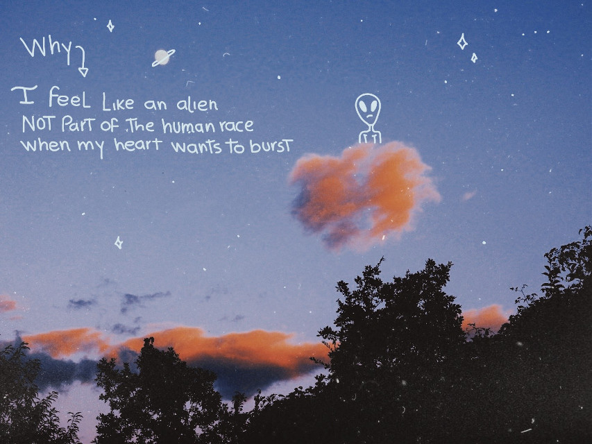 #freetoedit  song: arco-alien (is a beatiful song <\3)