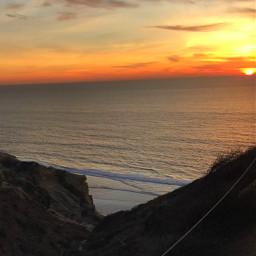 sunsetsky beach montain love peace