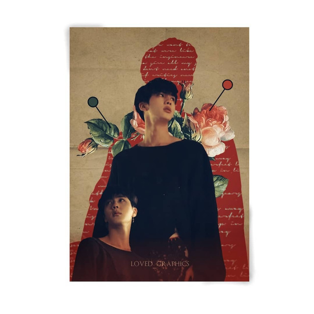 """Tutorial: https://youtu.be/vlGQge-Ms8Q  Poster #9 Idol #kimseokjin   Follow our YouTube channel """"loved_yasaengbts"""" for tutorials ✔ ( a combined channel with @yasaengbts ) . . . #seokjin #jin #btsedit"""