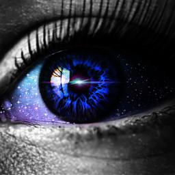 freetoedit oko eye galaxy eyesgalaxy
