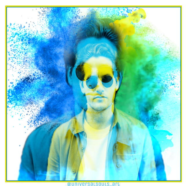 See #quicktip how to 👇 https://picsart.com/i/283753414010201 #freetoedit #glitcheffect #colorglitch #powderexplosion #burstofcolor #man #playingwithpicsart #aleedit
