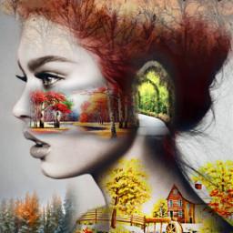 freetoedit girl farmhouse pathways burningbrush
