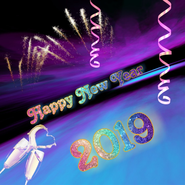 #freetoedit  #happy2019 A happy New Year to all my vip friends and all PA User all over the world.