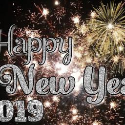 freetoedit happynewyear newyear 2019 fireworks