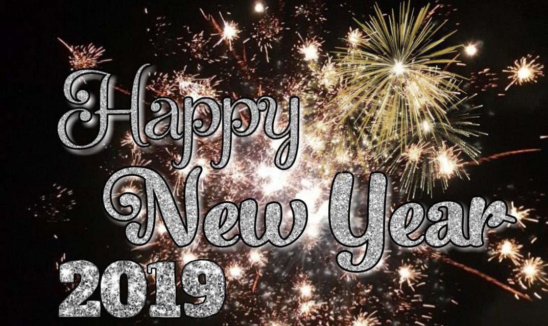 #freetoedit #happynewyear #newyear #2019 #fireworks #glitter #happy