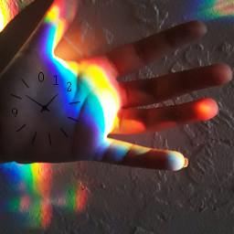 2019 newyear myphoto rainbow hand freetoedit