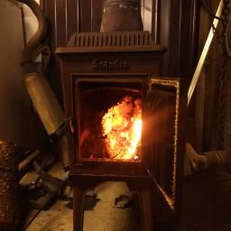 woodstove warmth fire heat freetoedit