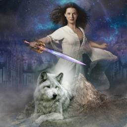 freetoedit freetoeditnot donotedit fantasy wolf ircmarvelousandmajestic ecfiercewomen