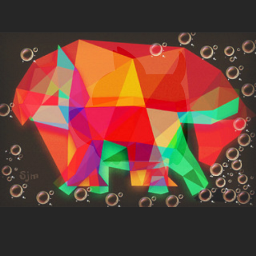 geometricart animalart myart colorful my colorful