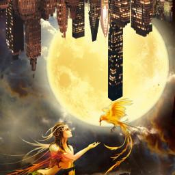 freetoedit vipshoutout fantasyart fantasybackground upsidedown