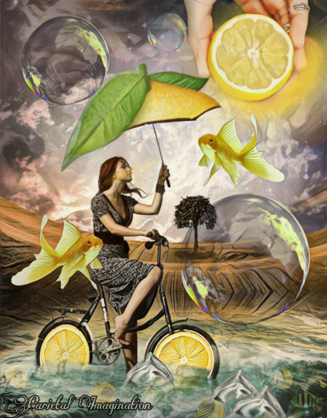 4TH PLACE LEMON ART (Thank you so much everyone for your kindness and amazing support! Xoxoxoxo)  Edit by: Parietal Imagination Art  #lemon #girl #bike #magicfx #madewithpicsart #freetoedit #irclemonart #lemonart #parietalimagination #lemonsun