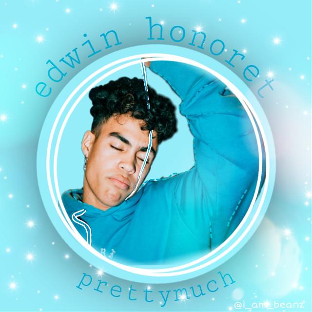 edit of eggwin ^^         #edwinhonoret #eggwin #prettymuchedwin #prettymuch #blue #circle