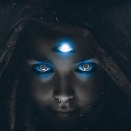 myedit unsplash mystic darkart cosmic