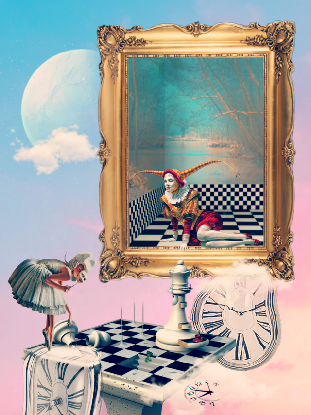 #freetoedit #surreal #art #chess #fantasy #clouds #imagination