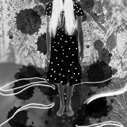 art illustion blackandwhite photoedit edit