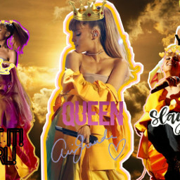 queen arianagrande perfect yellow slayqueen freetoedit
