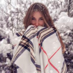 winter girl beauty january goodday freetoedit
