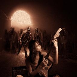 surreal edit horror photomanipulation art