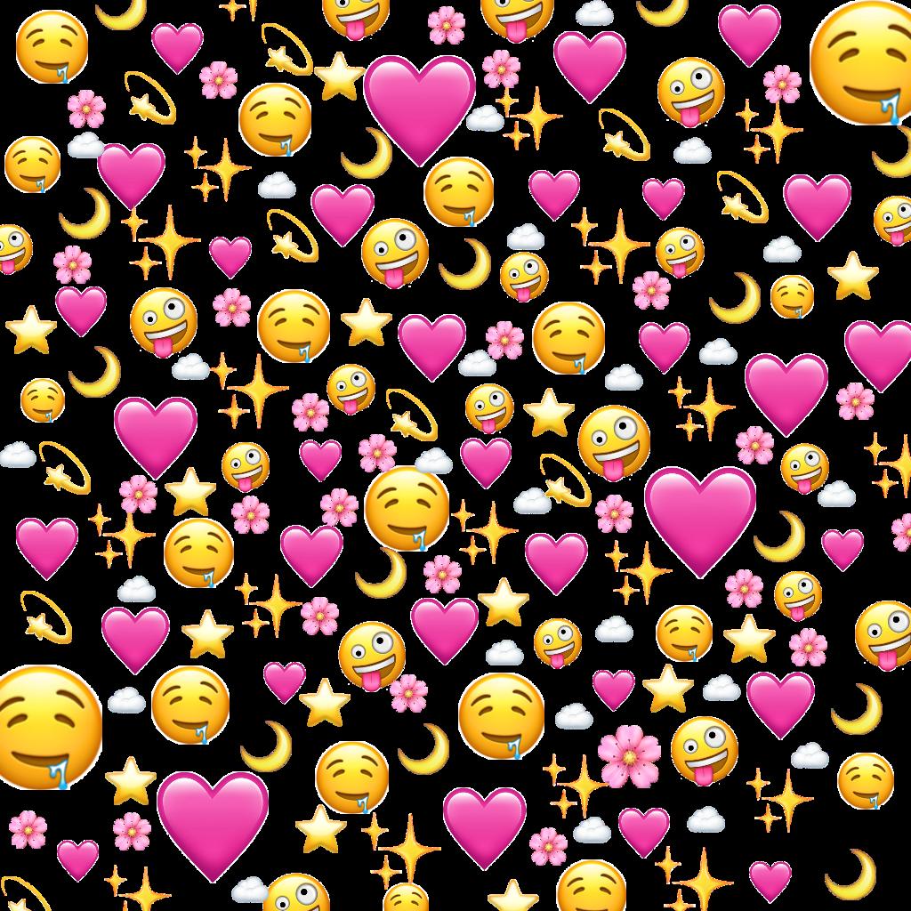 love flower pink emoji ios iphone heart meme cloud